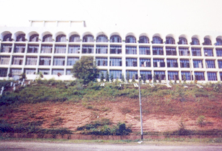 C Block Building